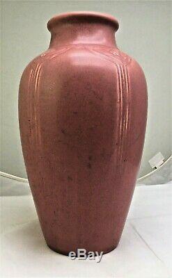 10 Inch Rookwood Arts & Crafts Vase XX 1920 Shape #2376