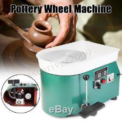 110V/220V Electric Pottery Wheel Machine Ceramic Work Clay Art Craft DIY 250W