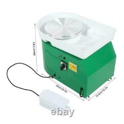 24CM 350W Electric Pottery Wheel Machine For Ceramic Work Clay Art Craft Molding