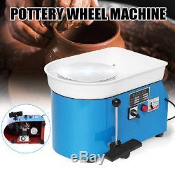 250W 110V DIY Pottery Wheel Ceramic Machine Advanced Brushless Motor Clay Arts