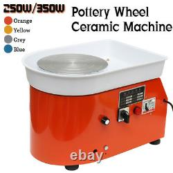 250W Electric Pottery Wheel Ceramic Machine Ceramic Work Clay Art Craft