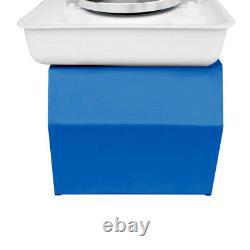 25CM 350W 110V Electric Pottery Wheel Machine Ceramic Work Clay Art Craft Blue