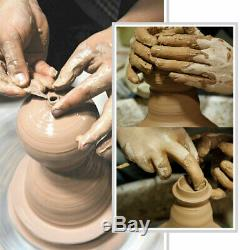 25CM 350W 110V Electric Pottery Wheel Machine Ceramic Work Clay Art Craft USA