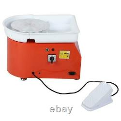 25CM 350W Electric Pottery Wheel Machine For Ceramic Work Clay Art Craft