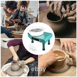 25CM Electric Pottery Wheel Ceramic Machine Work Clay Art Craft DIY 110V 350W