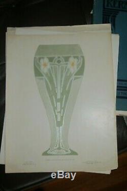 (29) KERAMIC STUDIO MAGAZINES, 1907-09. Arts Crafts Pottery, Stickley Teco Era