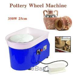 350W Electric Pottery Wheel Machine For Ceramic Work Clay Art Craft DIY 25CM