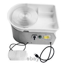 4Color 350W 110V Turntable Electric Pottery Wheel Ceramic Machine Art Clay Craft