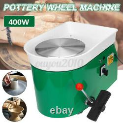 600W 25CM Electric Pottery Wheel Machine For Ceramic Work Clay Art Craft Molding