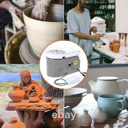 9.84'' 350W 110V Electric Pottery Wheel Machine For Ceramic Work Clay Art Craft