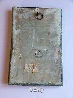 A Rare Compton Pottery St Francis of Assisi Arts & Crafts Plaque