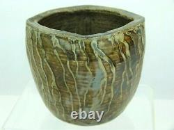 A Rare Martin Brothers Arts and Crafts Organic Vase with Applied Tendrils