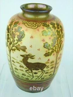 A Truly Stunning Pilkington's Royal Lancastrian Arts & Crafts Lustre Vase