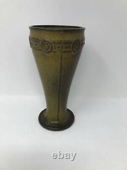 Antique 1910 Rookwood Pottery Arts & Craft Period Vase with Ombroso Glaze