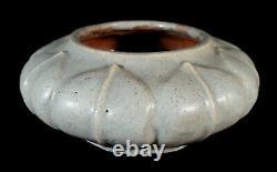 Antique American Studio Pottery Arts Crafts Vase Maybe Handicraft Guild Student