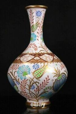 Antique Doulton Lambeth Pottery Exhibition Arts and Crafts Vase Circa 1891