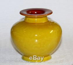 Antique Linthorpe English Art Pottery Arts & Crafts Vase Christopher Dresser