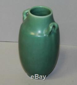 Antique Rookwood Pottery Green Vase Arts and crafts 1921
