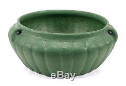 Antique Roseville Matt Green American Pottery Vase Fern Dish Arts & Crafts 320-9