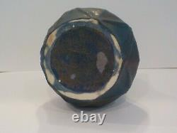 Antique Van Briggle Arts & Crafts Pottery Vase 1914 dead Matte Blue #797 RARE