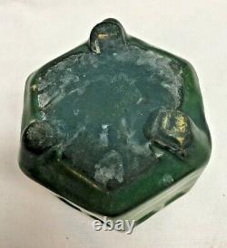 Antique Weller Pottery Bedford Matt Arts & Crafts Green Vase