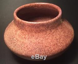 Arequipa Arts and Crafts Pottery Hand-Carved Wisteria Vase c 1916