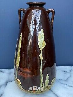 Art & Crafts Wardle Pottery Vase Signed Ruskin