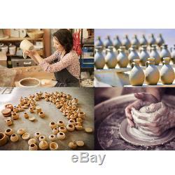 Art DIY Crafts Pottery Machine Ceramic Sculpting Turntable Tools 110V 350W NBTS