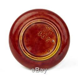 Arts & Crafts Burmantofts Miniature Red Glazed Bottle Vase