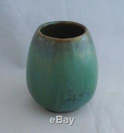 Arts & Crafts Fulper Vase #011 Nicely Glazed Early Rectangular Mark