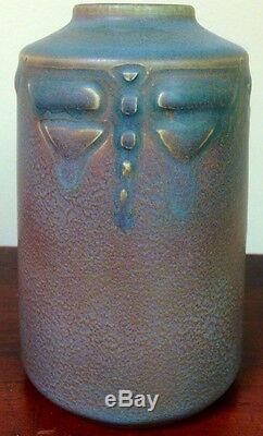 Arts & Crafts Rookwood Dragonfly Todd Vase