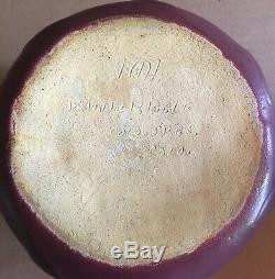 Arts & Crafts Van Briggle Dirty Bottom Vase