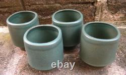 Asian Arts and Crafts Roycroft Pottery Revival Tea Set