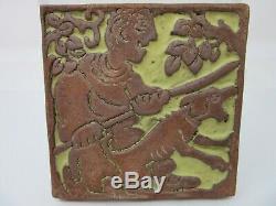 Batchelder Califorina Arts And Crafts Pottery Tile