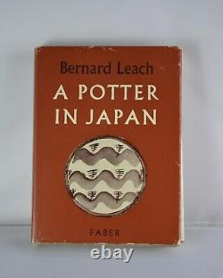Bernard Leach book A Potter in Japan pottery craft