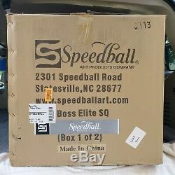 Boss Elite Pottery Wheel by Speedball Arts New Read Description