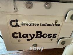 CREATIVE INDUSTRIES(Speedball Arts) Clay Boss Pottery Wheel