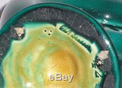 Christopher Dresser Linthorpe Pottery Tubular Moon Vase Studio Arts and Crafts