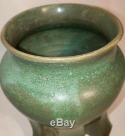 D Schock Pottery Arts and Crafts, Mission, Prairie style vase. Dschockpottery