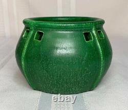 Door Pottery, Windows Vase, Great Arts & Crafts Theme, Cucumber Green Glaze Nice
