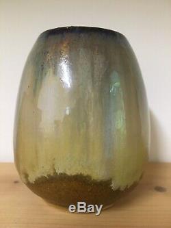 Early Fulper Mustard Vase Form 011 Excellent Condition Mission Arts Crafts Era