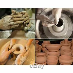 Electric Pottery Wheel Ceramic Machine 25CM Work Clay Art Craft DIY with Tools New