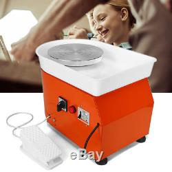 Electric Pottery Wheel Ceramic Machine Foot Flexible Pedal Work Clay Art Craft