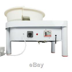 Electric Pottery Wheel Machine For Ceramic Work Clay Art Craft DIY 250W 25CM