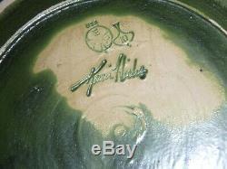 Ephraim Faience Arts & Crafts Art Pottery Large Vase Signed