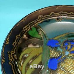 Exquisite Vintage Art-crafts Gouda Zuid-holland Dutch Folk Art Deco Charger