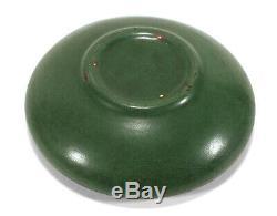 Fine Antique Peters & Reed Ohio Art Pottery Bowl Matte Green Glaze Arts & Crafts