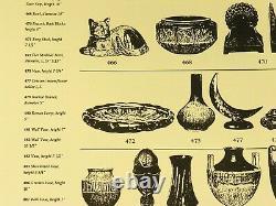 Fulper Pottery bottle vase brown drip over blue matte shape 475 arts & crafts