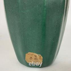 Green Van Briggle Vase Arts & Crafts Pottery 1915 Shape #690 Yucca