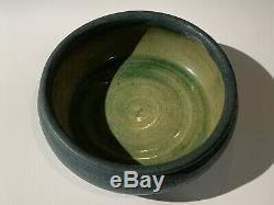 Grueby Pottery Low Bowl Arts & Crafts Boston